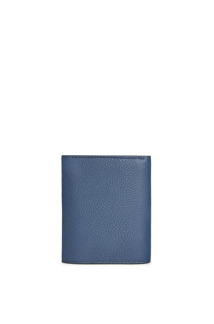 LOEWE Trifold wallet in soft grained calfskin Indigo Dye/Black pdp_rd
