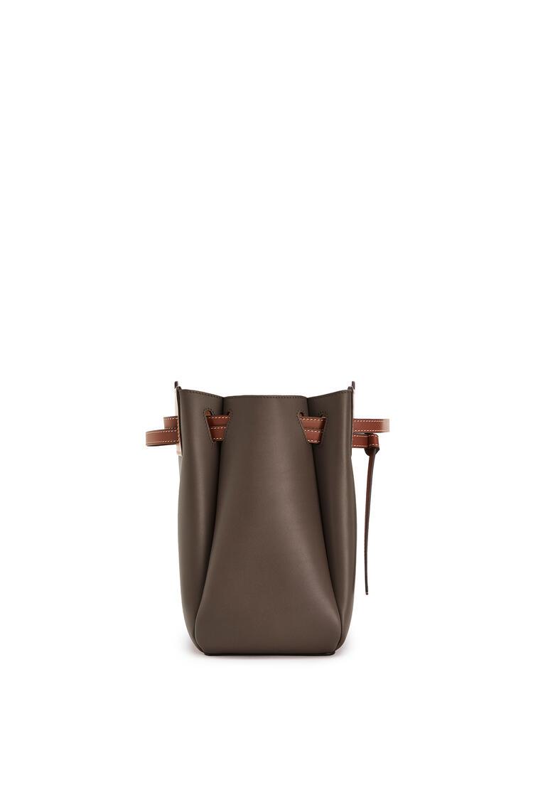 LOEWE Lazo shopper bag in natural calfskin Dark Taupe/Tan pdp_rd