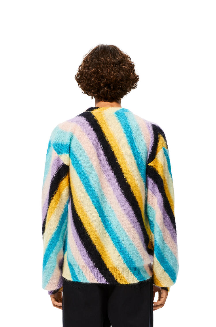 LOEWE Sweater in striped mohair Multicolor pdp_rd