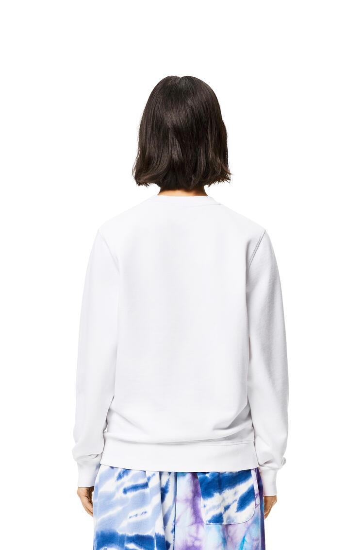 LOEWE Sweatshirt In Cotton White pdp_rd