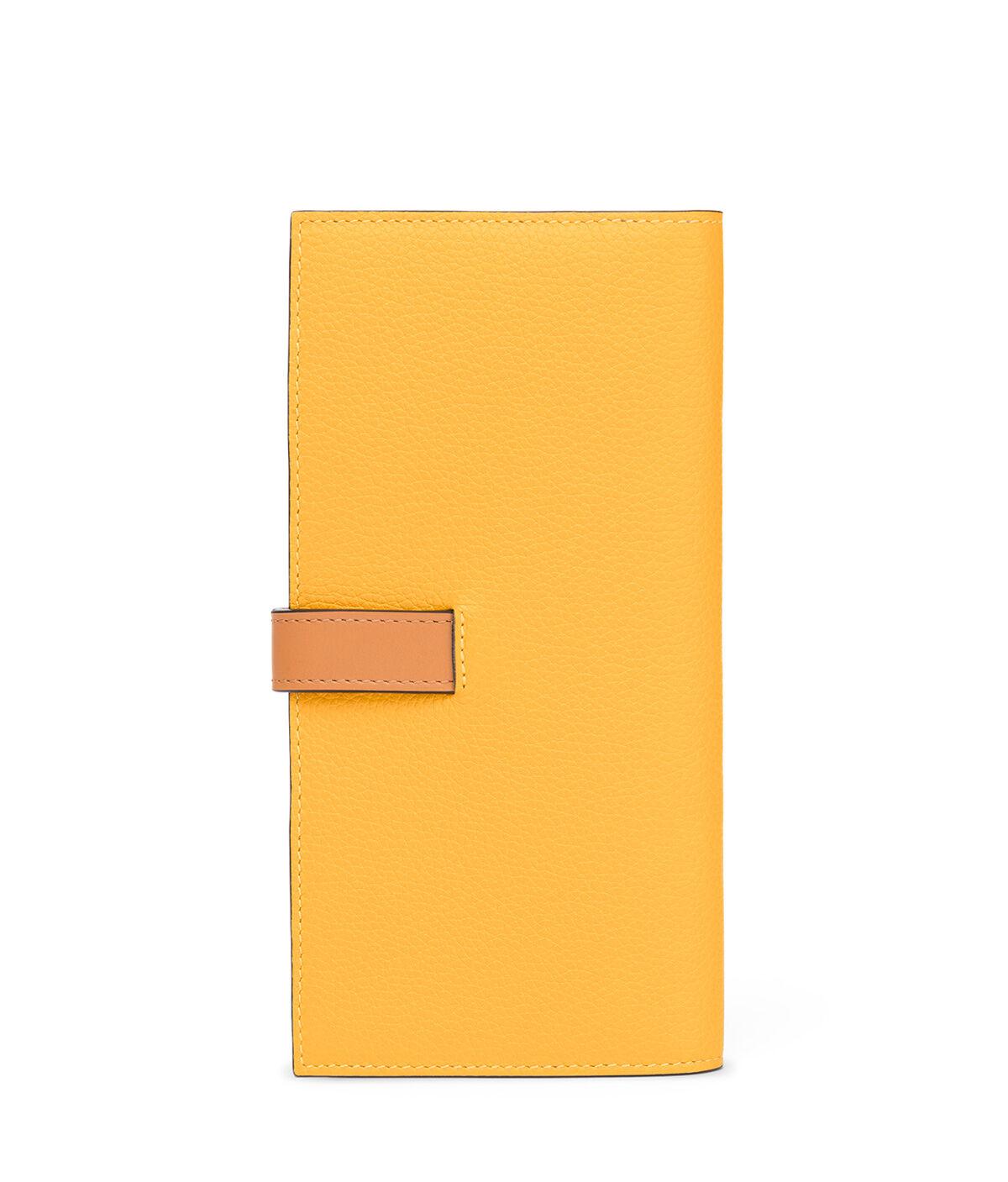 LOEWE Billetero Largo Vertical Amarillo Mango/Miel all