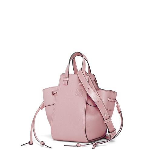 LOEWE Hammock Drawstring Mini Bag Pastel Pink front