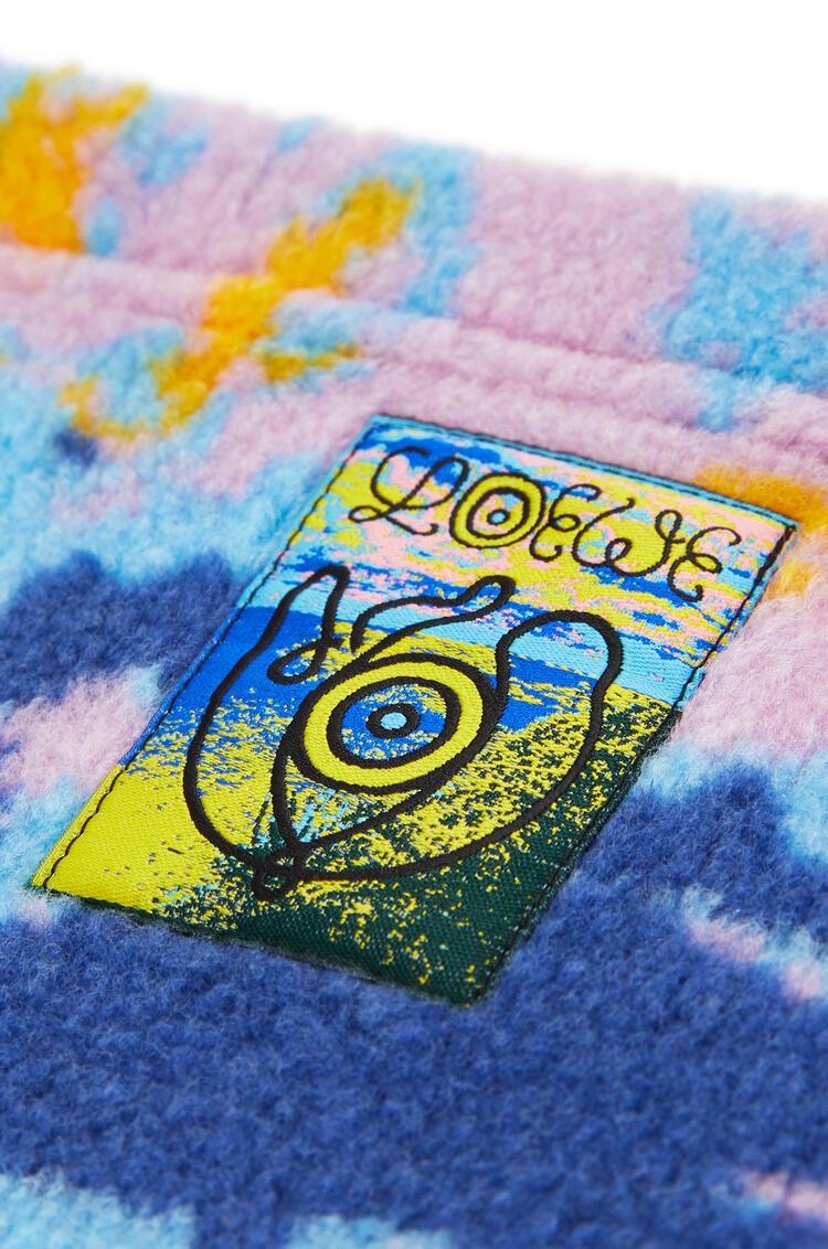 LOEWE Fleece snood in jacquard Multicolor pdp_rd