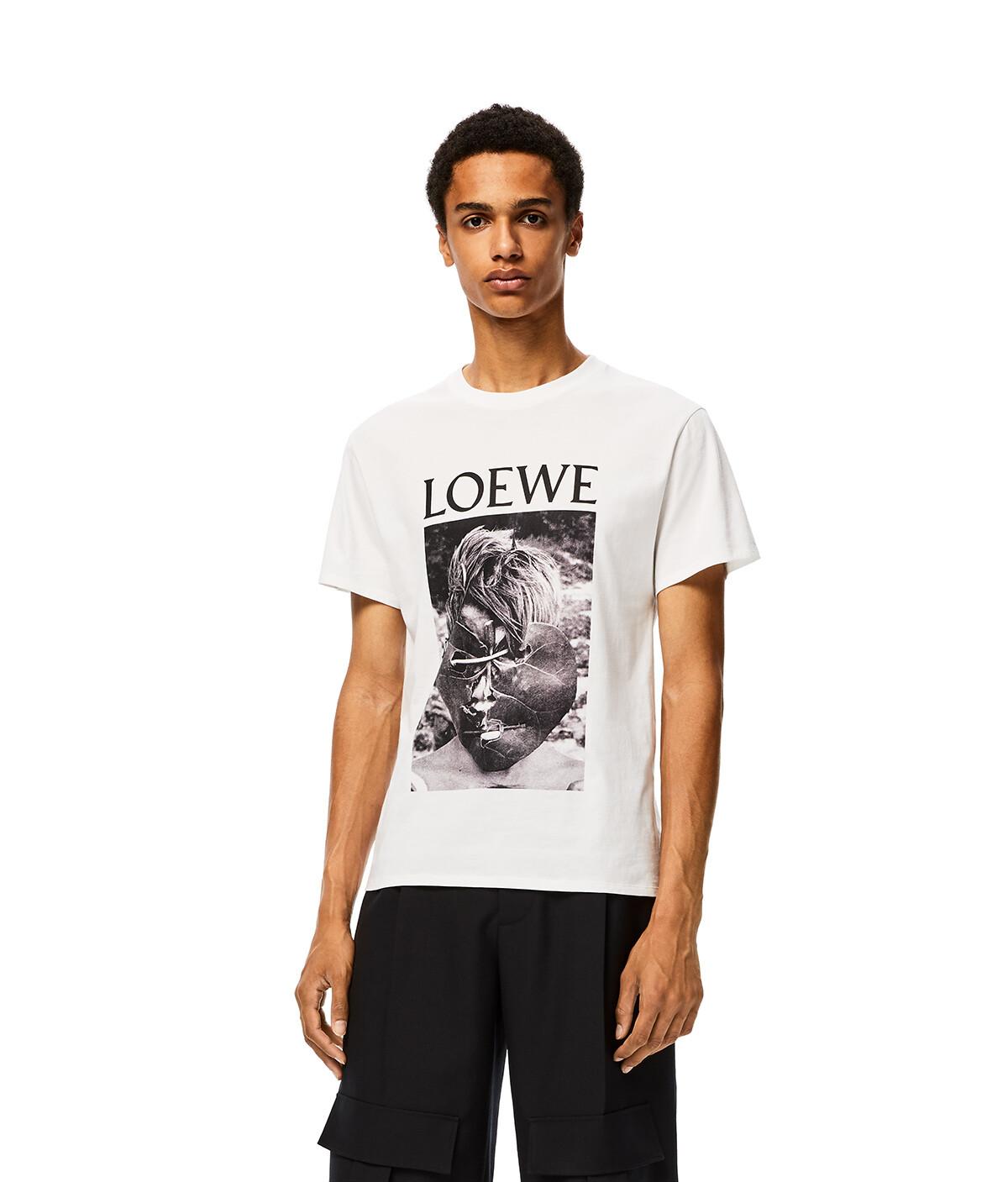 LOEWE Ken Heyman T- Shirt White front