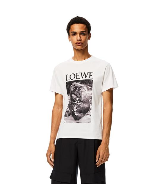 LOEWE Ken Heyman T- Shirt 白 front