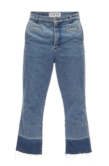 LOEWE Fisherman Jeans 蓝色 front