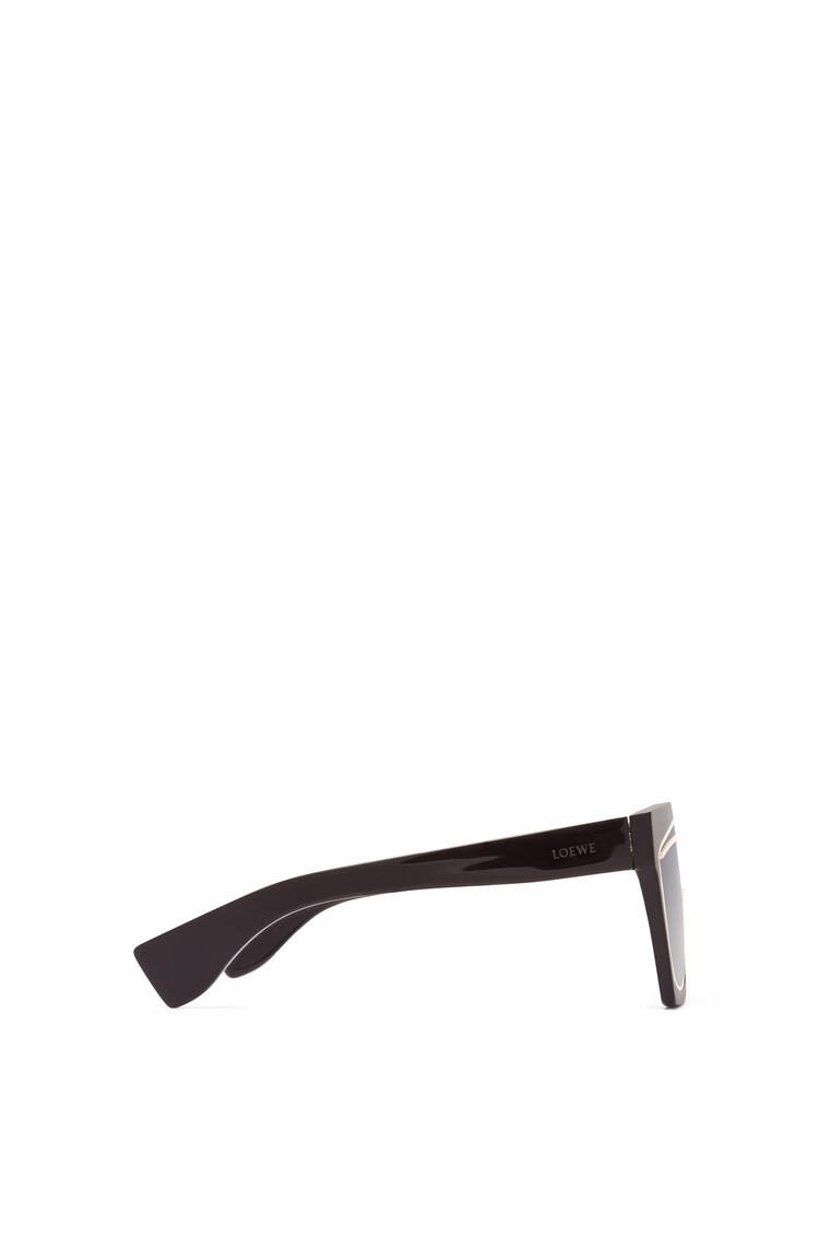 LOEWE MASQUE SUNGLASSES Black/Gradient Smoke pdp_rd