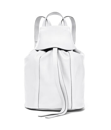 LOEWE Rucksack Small 绵白色 front