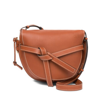 LOEWE Gate Bag Rust Color front