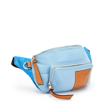 LOEWE Puffy Bumbag Light Blue front