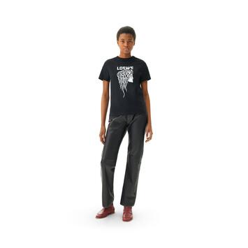 LOEWE Salome T-Shirt Negro front