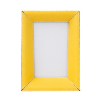 LOEWE Photo Frame Small 黄色 front