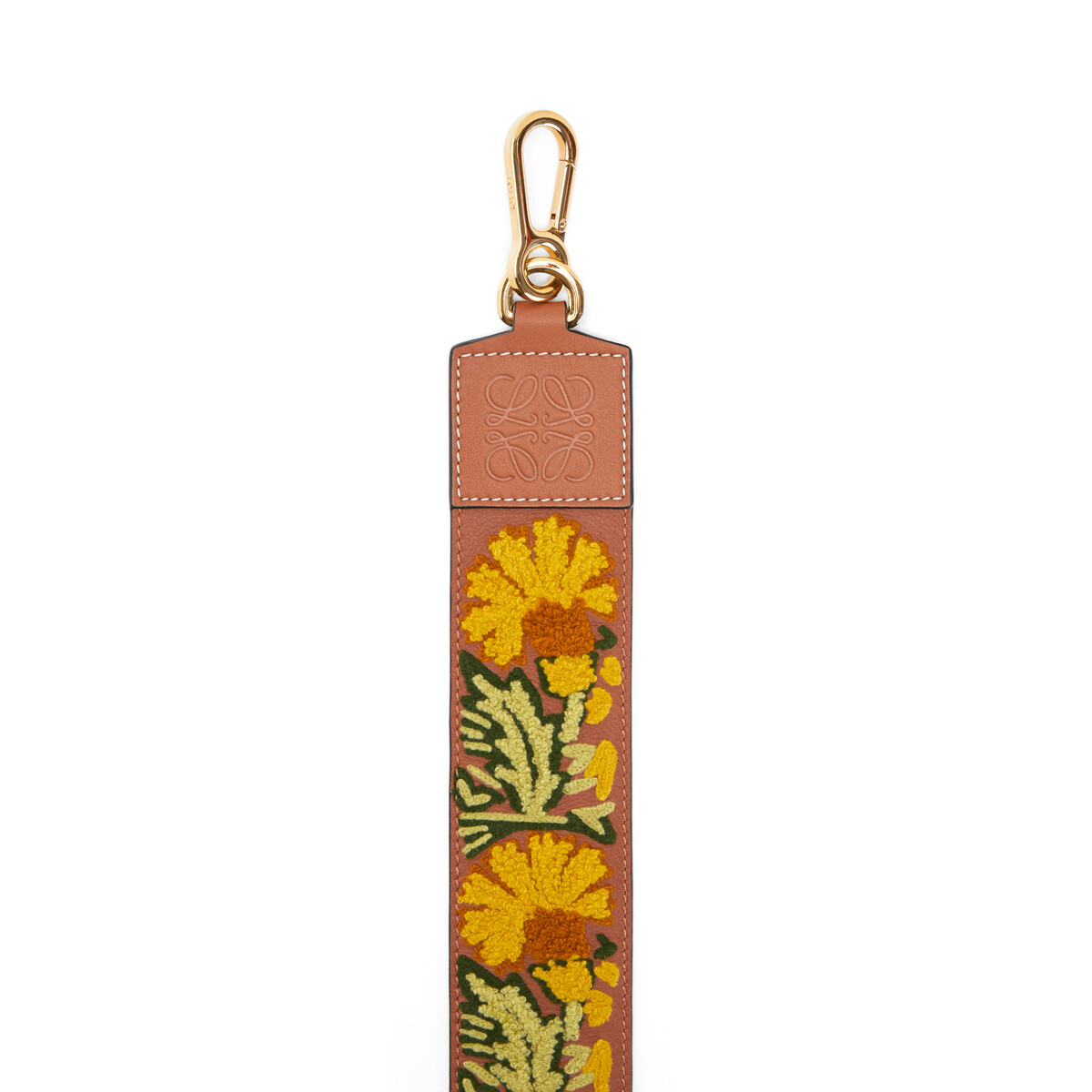 LOEWE Floral Strap Yellow front