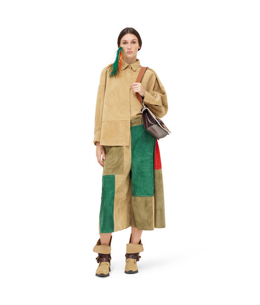 LOEWE Oversize Shirt Gold front