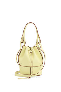 LOEWE Small Balloon bag in nappa and calfskin Pale Lime pdp_rd