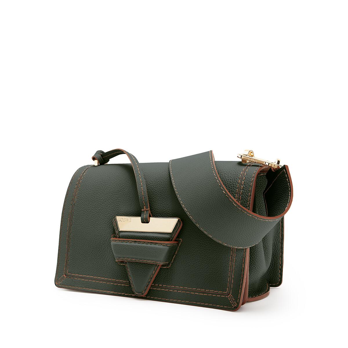 LOEWE Barcelona Soft Bag Vintage Khaki front