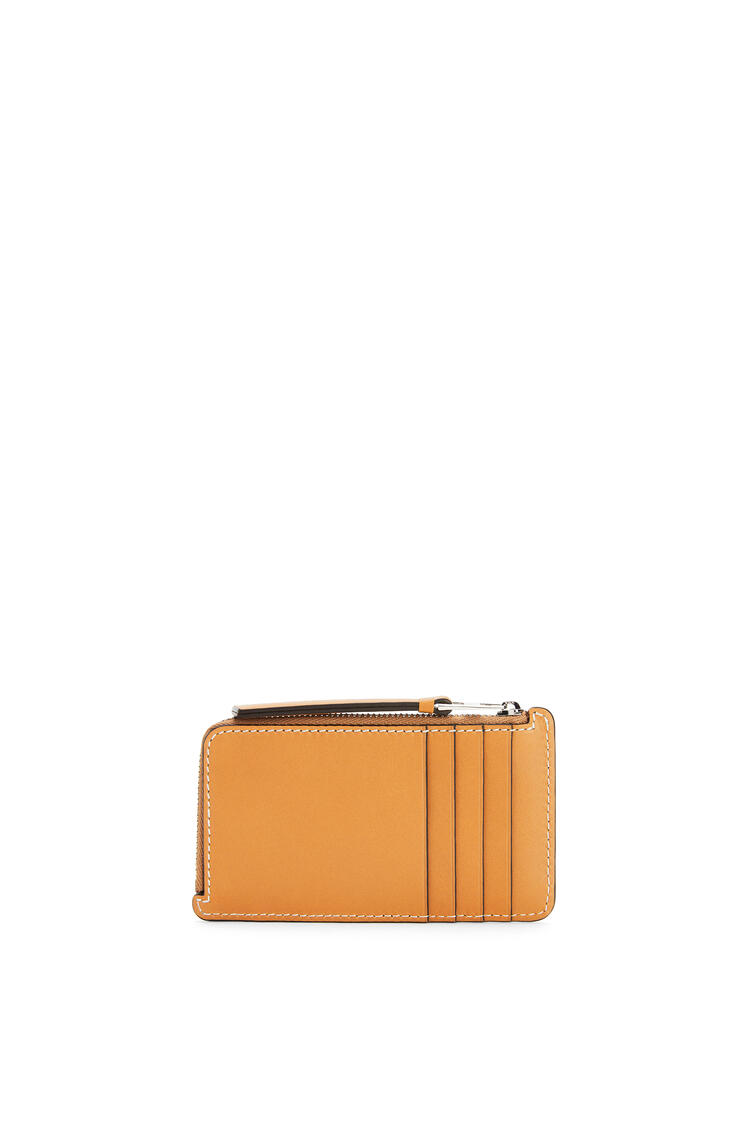 LOEWE Puzzle coin cardholder in smooth calfskin Light Caramel pdp_rd