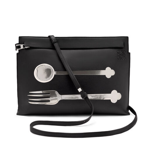 LOEWE T Pouch Spoon Bag 黑色 all