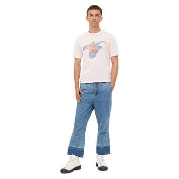LOEWE T-Shirt Dumbo Rosa Bebe front