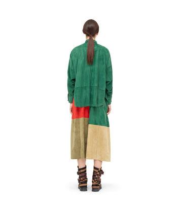 LOEWE Oversize Shirt 绿色 front
