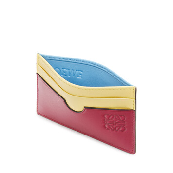 LOEWE Color Block Plain Cardholder Multicolor front