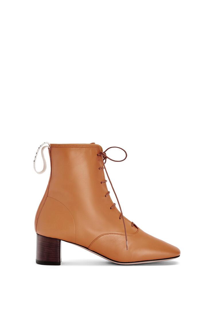 LOEWE Soft boot 50 in lambskin Tan pdp_rd