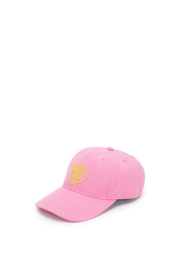 LOEWE Cap in canvas Medium Pink pdp_rd