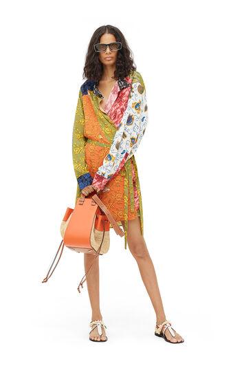 LOEWE Paula Print Wrap Shirtdress マルチカラー front