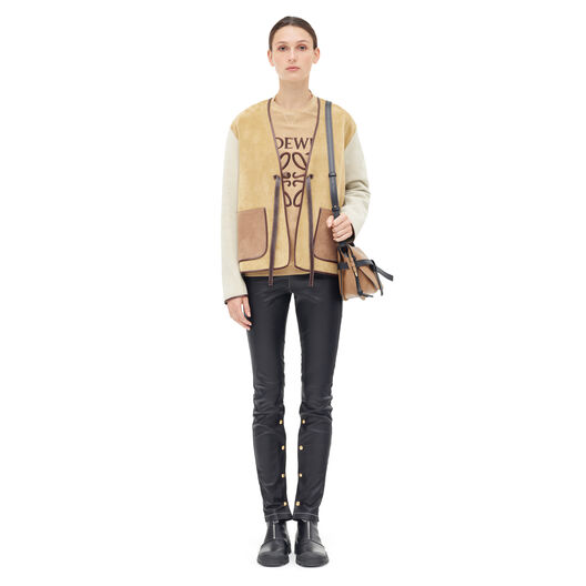 LOEWE Patch Pocket Jacket Oro front