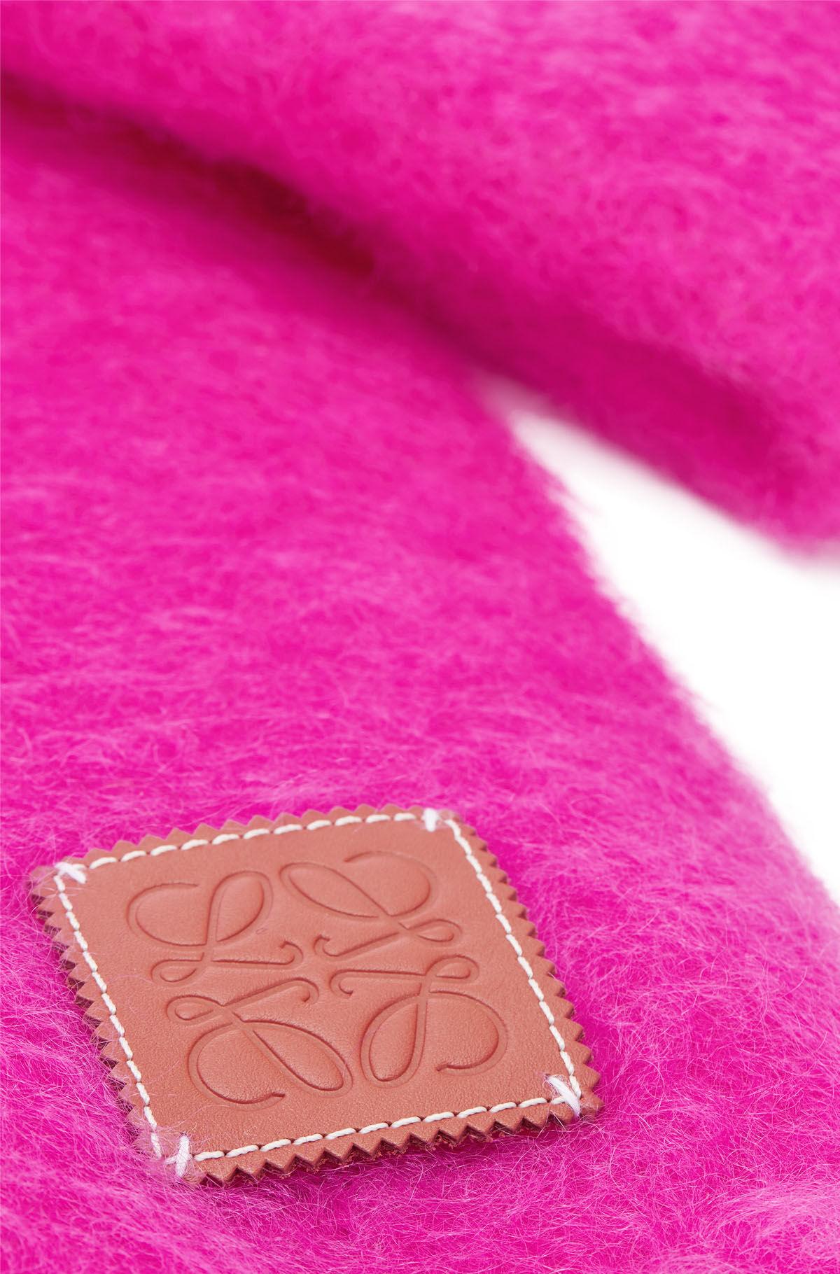 LOEWE 45X230 Scarf Plain 粉色 all