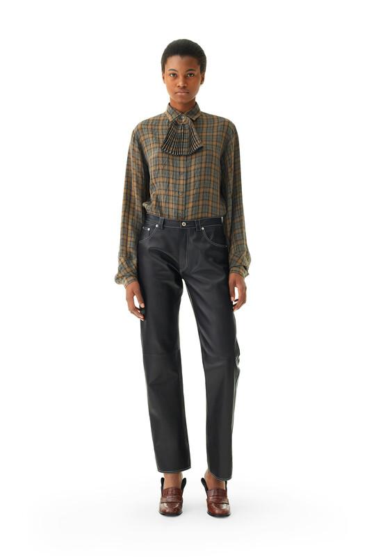 LOEWE Pantalon Negro front
