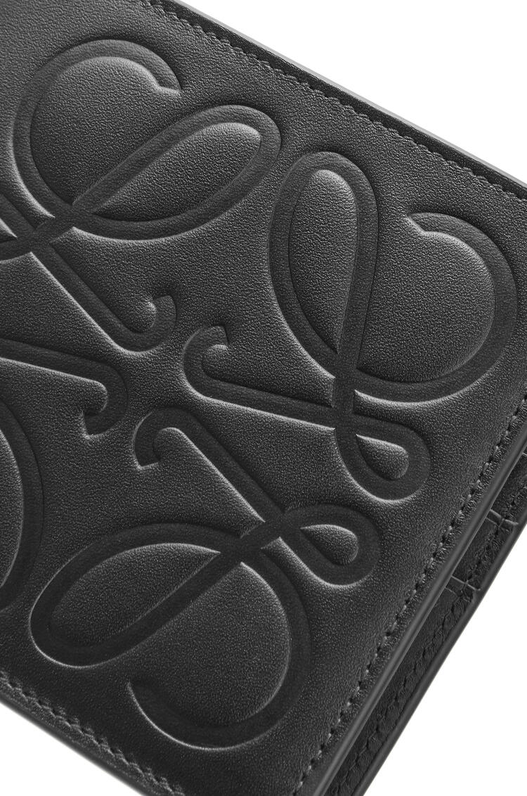 LOEWE Bifold wallet in smooth calfskin Black pdp_rd