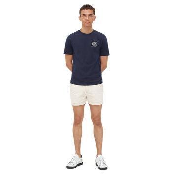 LOEWE Camiseta Anagram Marino front