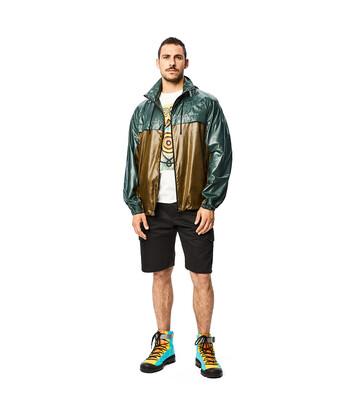 LOEWE Jacket With Hoodie Verde front
