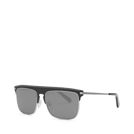 LOEWE Square Sunglasses Black/Smoke all