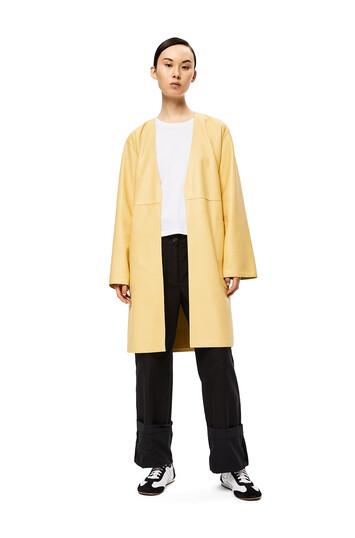 LOEWE Coat Butter front