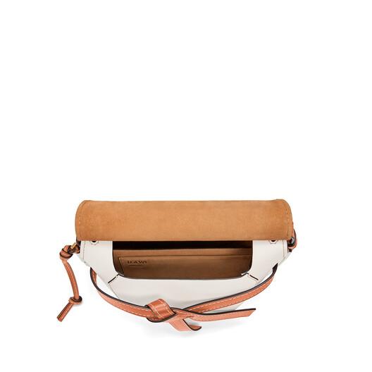 LOEWE Gate Small Bag Light Oat/Soft White front