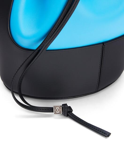 LOEWE バルーン バッグ Topaz Blue/Black front