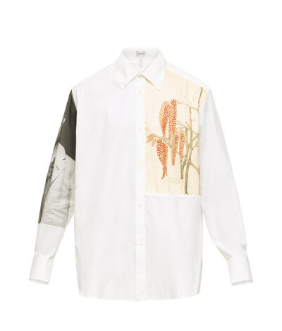 LOEWE Shirt Botanical & Portrait Multicolor front