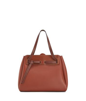 LOEWE Lazo Shopper Rust Color front