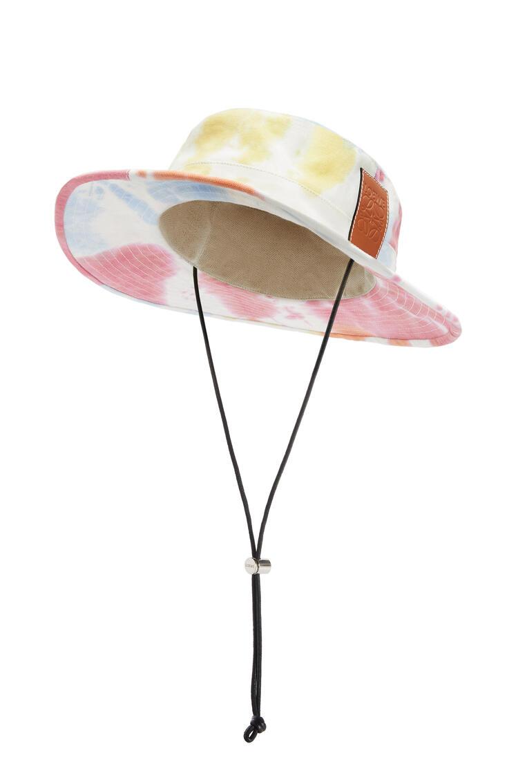 LOEWE Explorer hat in tie dye canvas Multicolor pdp_rd