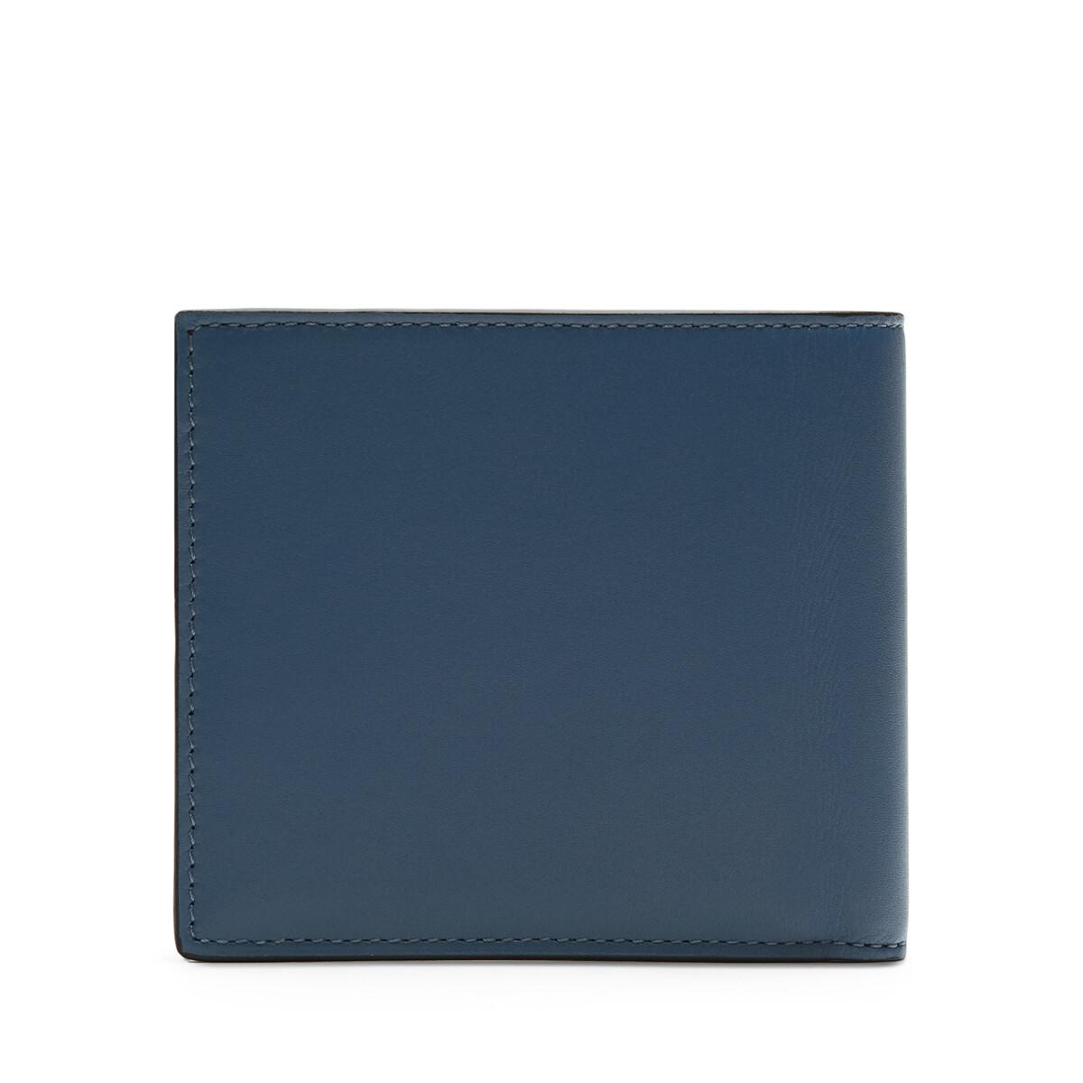 LOEWE Rainbow Bifold Wallet Blue/Multicolor front