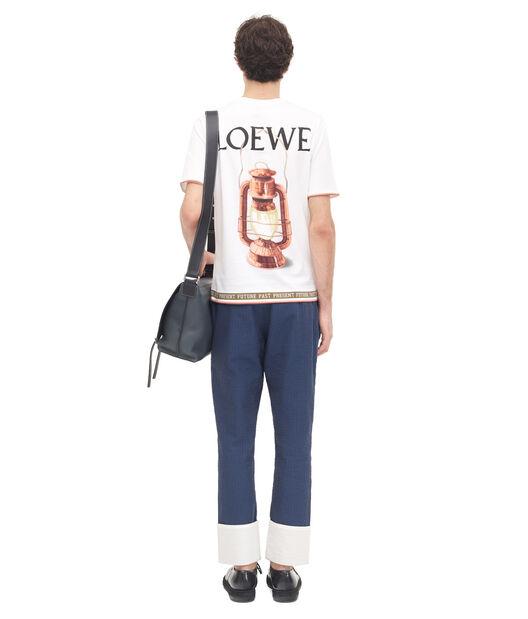 LOEWE Past Present Future T.Shirt Blanco/Multicolor all