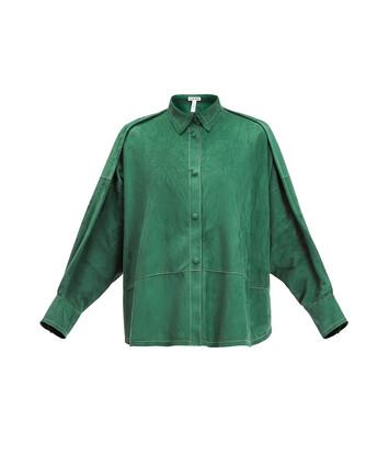 LOEWE Oversize Shirt Green front