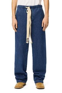 LOEWE Drawstring jeans in denim Blue pdp_rd