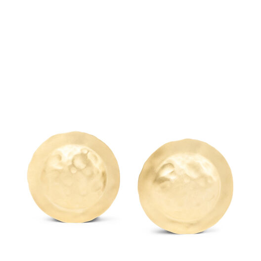 LOEWE Shield Earrings 金色 all