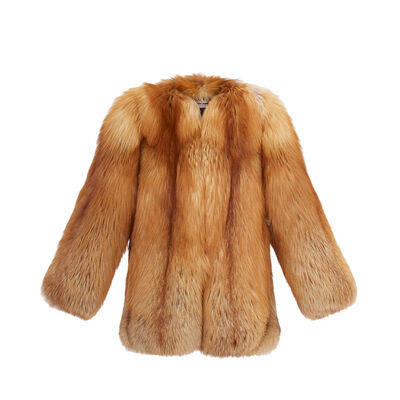 LOEWE Fox Jacket Camel front