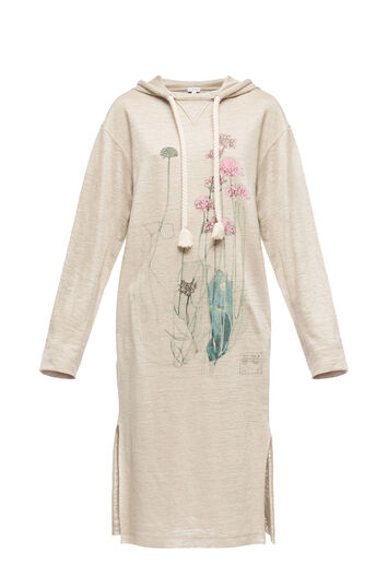 Hoodie Dress Botanical