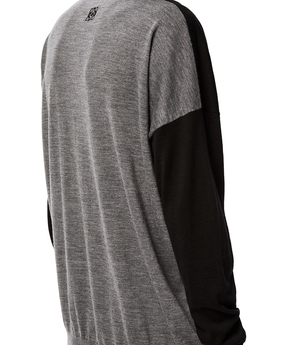 LOEWE Anagram Sweater Negro/Gris front