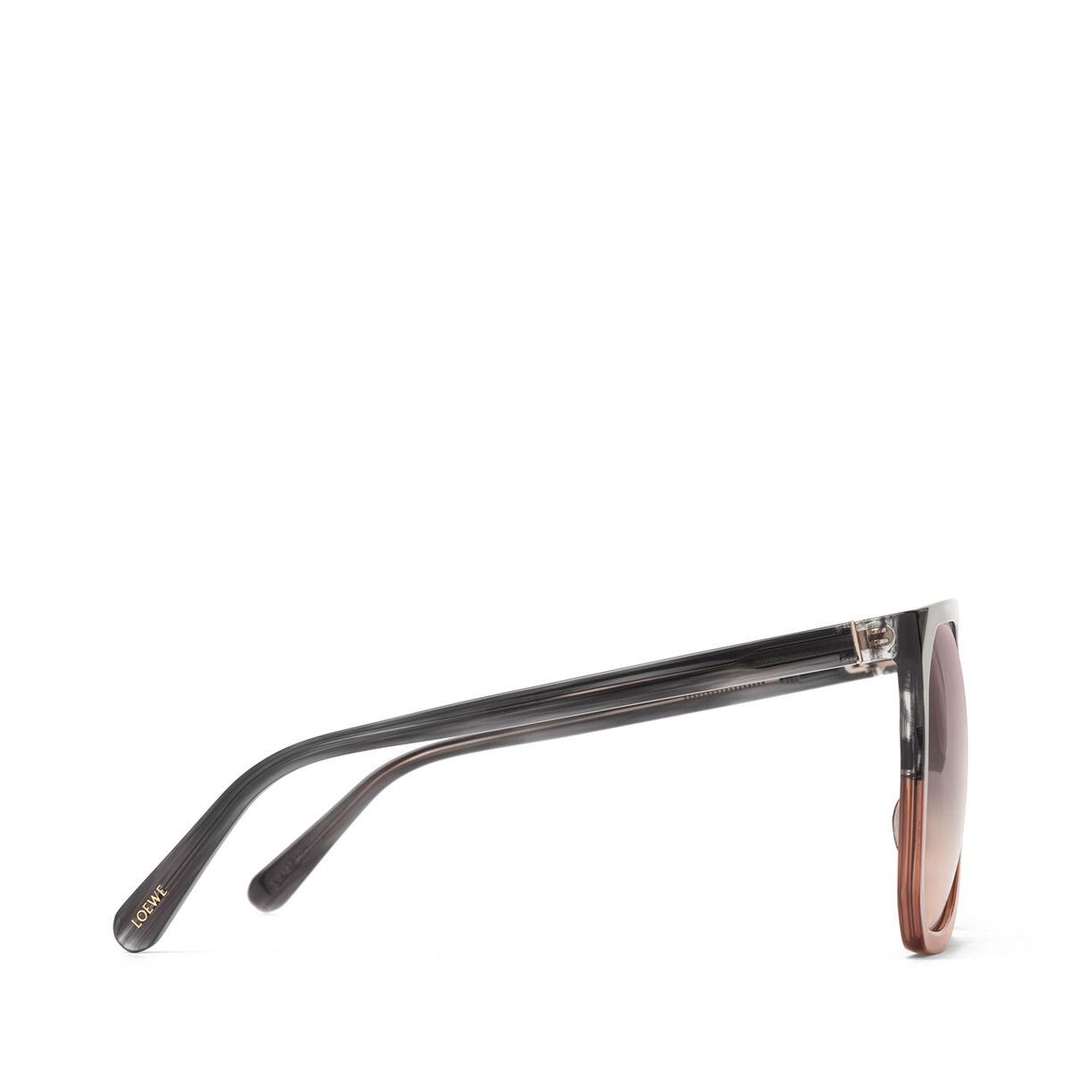 LOEWE Gafas Filipa Gris/Marron/Amarillo Degradado all